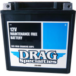DRAG SPECIALTIES FACTORY-ACTIVATED AGM MAINTENANCE-FREE BATTERY