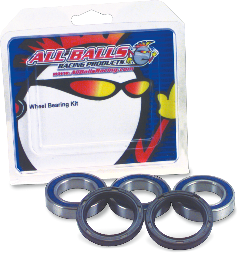 All Balls Rear Wheel Bearing Seal Kit 00-12 Suzuki GSX 600 750 1250 1300 Bandit