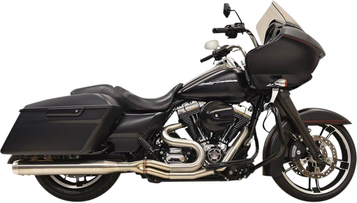 Bassani Xhaust Polished Road Rage III Exhaust System for 95-16 Harley Touring
