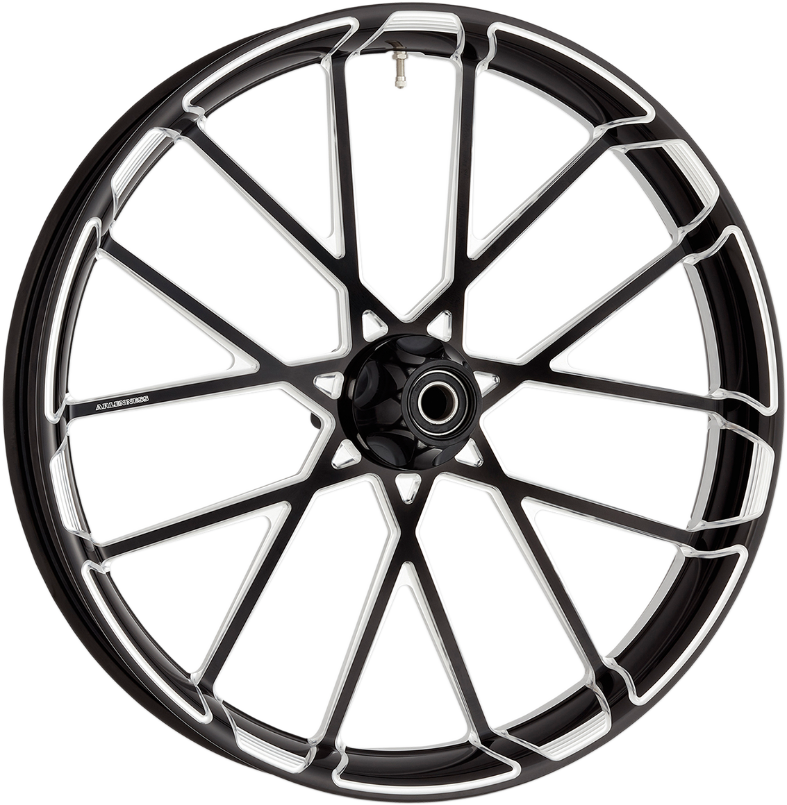 "Arlen Ness Black Procross 21"" x 3.5"" ABS Front Wheel for 08-18 Harley Touring"