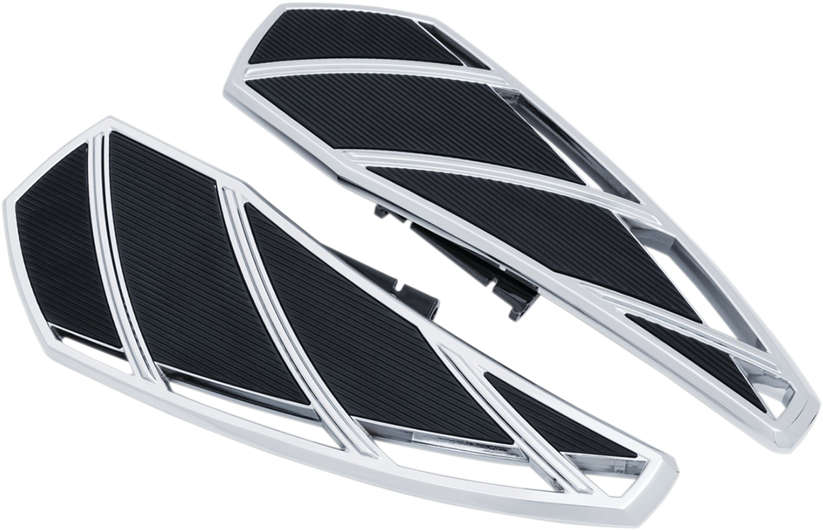 Kuryakyn 5794 Phantom Motorcycle Driver Floorboards 18-20 Harley Softail FLSL