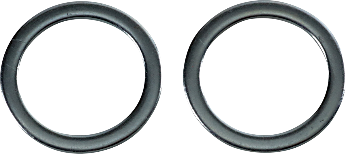 James Gasket Pair Fork Seal Backup Washers 00-13 Harley Touring FLHR FLHRC FLTRU