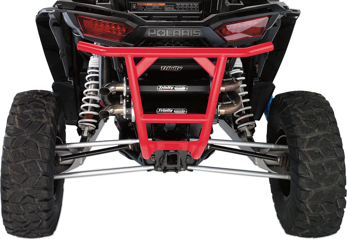 Moose Racing UTV Steel Red Rear Bumper for 15-18 Polaris RZR 1000 XP 900