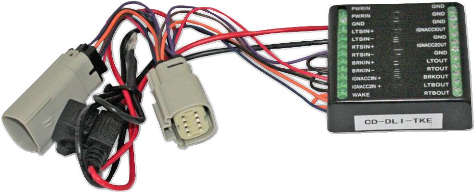 Custom Dynamics Turn Signal Isolator for 14-18 Harley Tri Glide Freewheeler