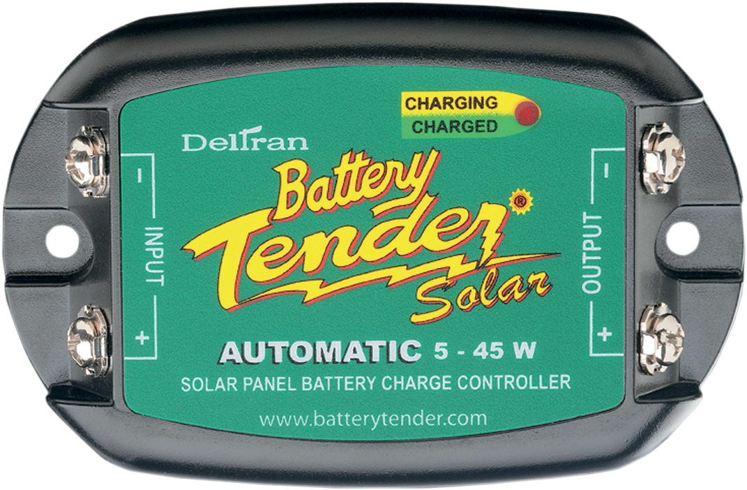 Battery Tender Black Green 5-15  watts Universal Solar Panel Charger Controller