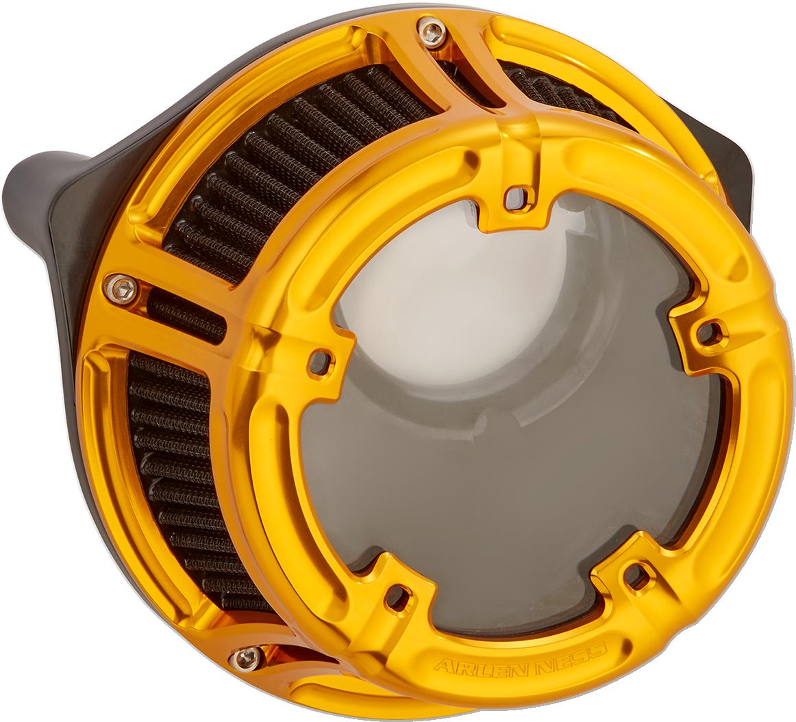 Arlen Ness Gold Method Air Cleaner Filter 91-18 Harley Sportster XLC XLR XLH XR
