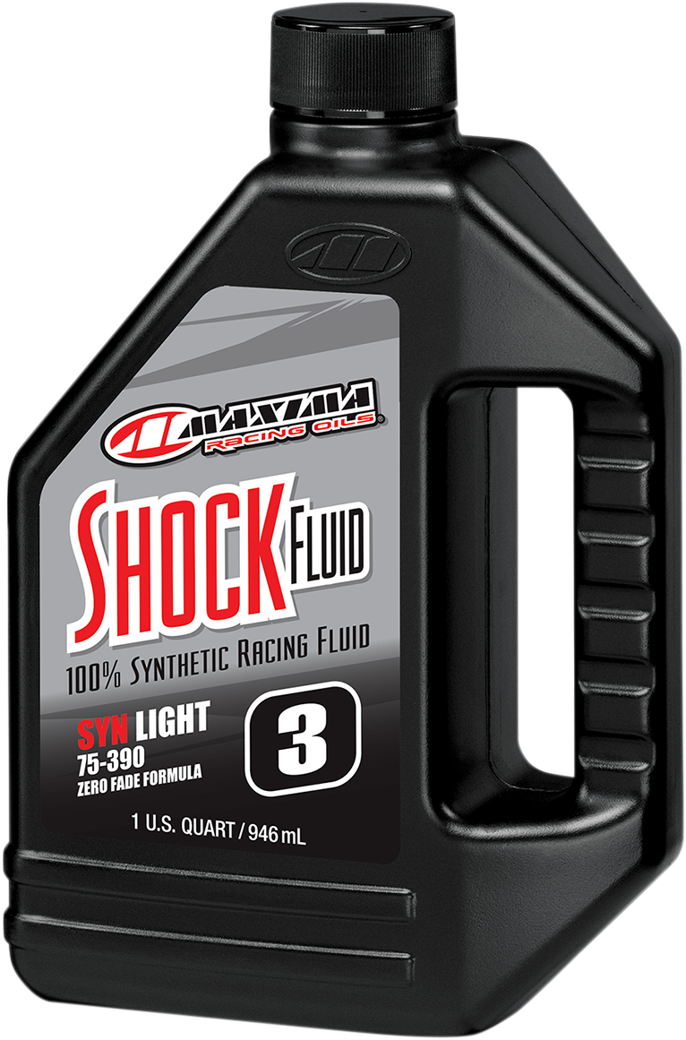 Maxima Racing 5W Fully Synthetic ATV Side by Side Off Road Motorcycle Shock Oil