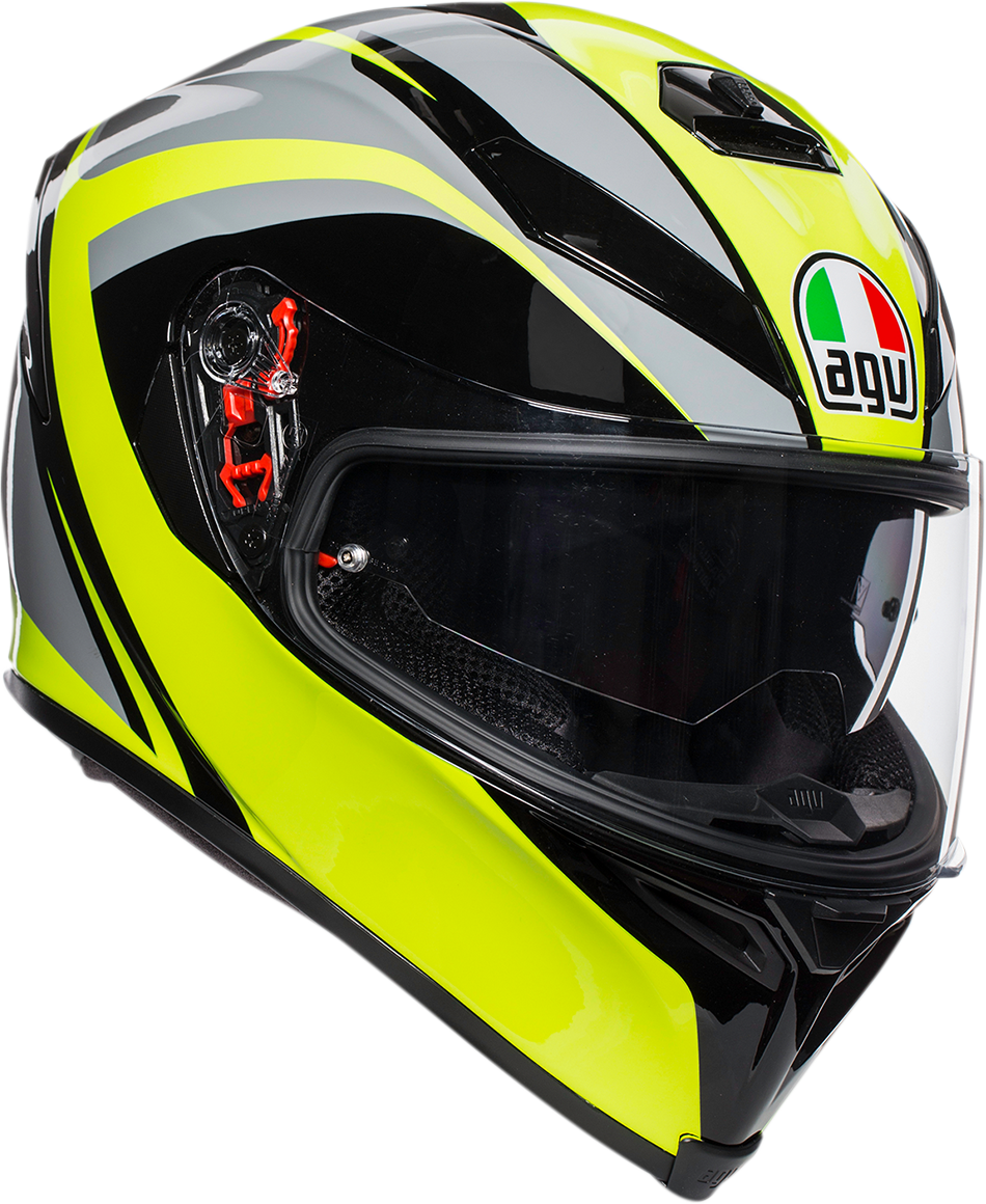 Agv Unisex K5 Typhoon Full Face Motorcycle Riding Street Racing Helmet