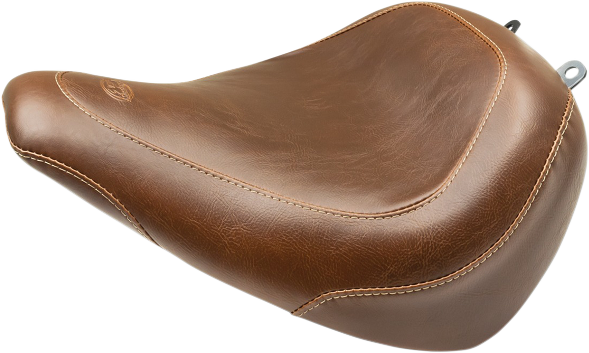 Mustang Tripper Brown Motorcycle Solo Seat 18-19 Harley Softail Breakout FXBR