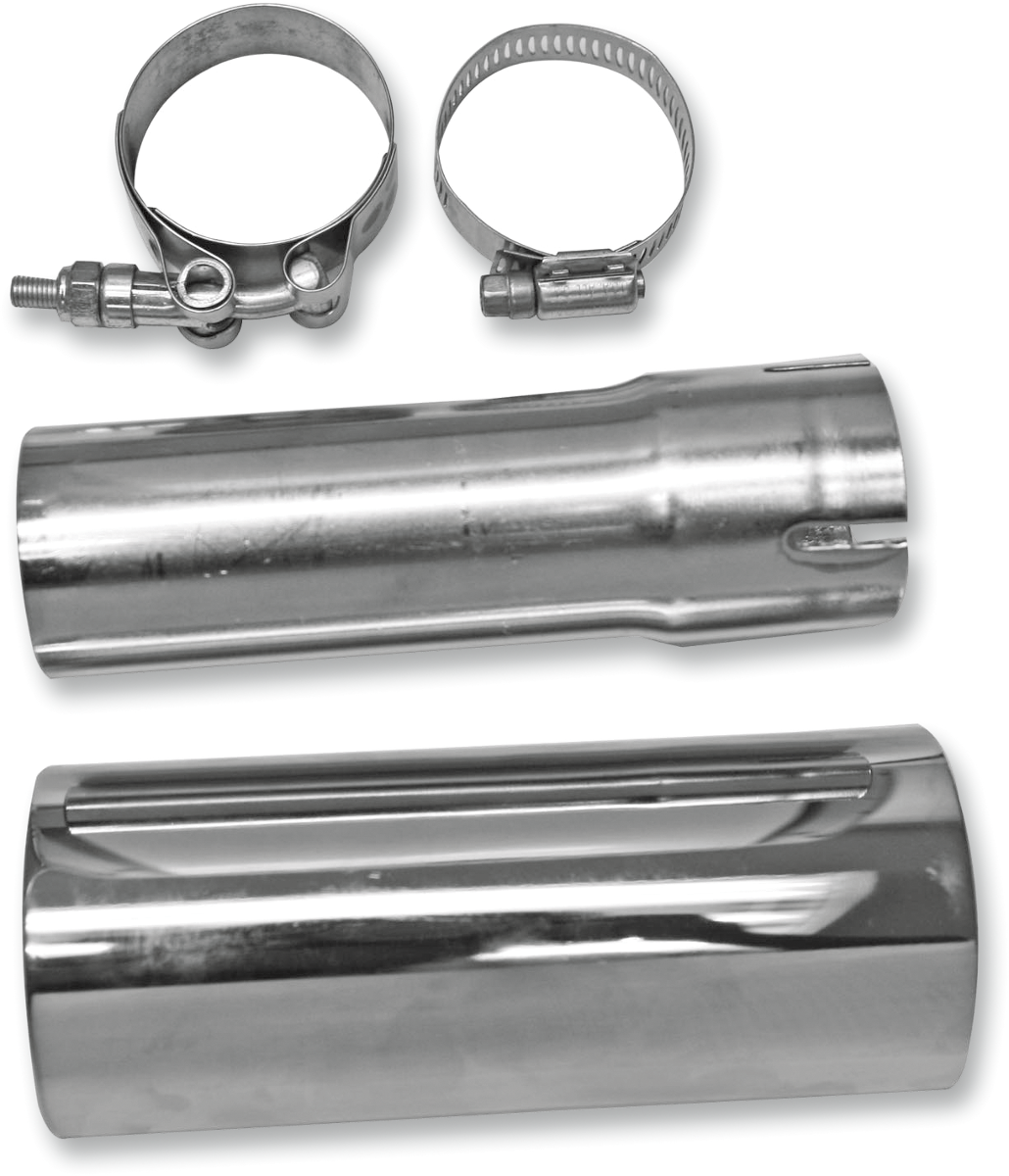 "Bassani Xhaust 1 3/4"" Exhaust 2 into 1 Muffler Adapter Kit for 2010 Harley FLHX"