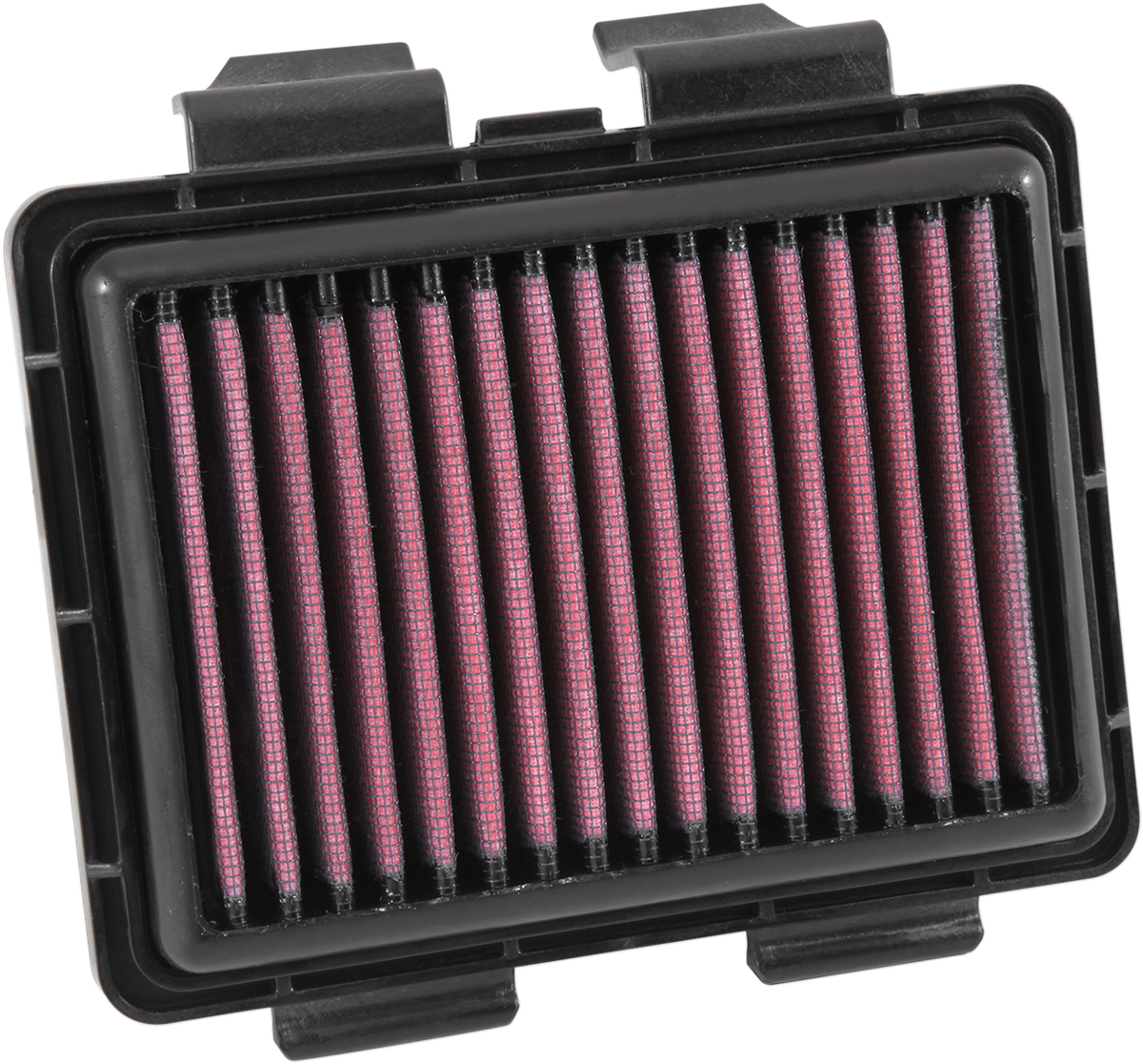 K&N Black Red Cotton Gauze Washable Panel Air Filter for 17-19 Honda CMX Rebel