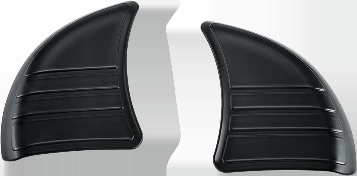 Kuryakyn 6979 Black Tri Line Inner Fairing Covers for 14-19 Harley Touring FLHX