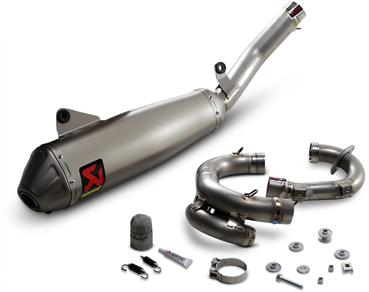 Akrapovic Evolution Full Titanium Exhaust System 2020 For Yamaha Yz450f Ebay