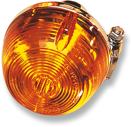 DOT Approved Turn Signal Replacement Lens K/&S Technologies Amber 25-1040
