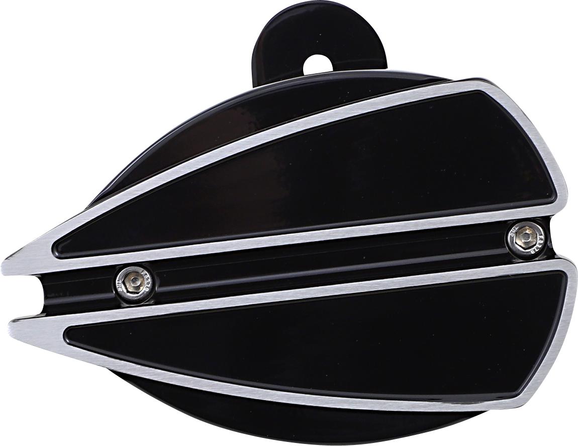 Covingtons Black Ripper Billet Aluminum Motorcycle Horn 57-21 Harley Davidson