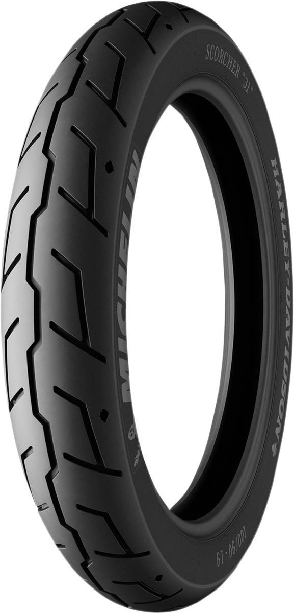 Michelin Scorcher 31 Front 100/90-19 57H Cruiser Tire for Harley Davidson