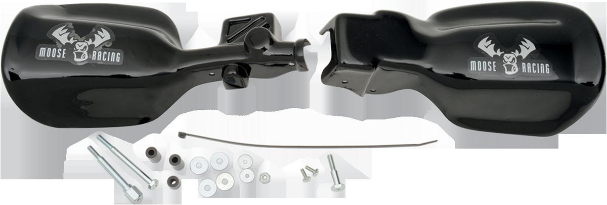 """Moose Utility Black 7/8"""" ATV Hand guards For 93-08 Honda TRX300EX TRX400EX"""