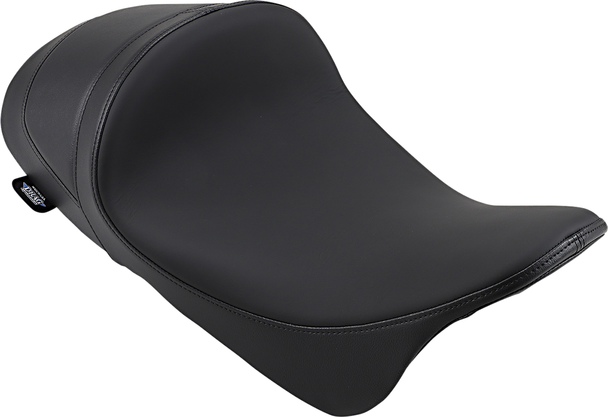 Drag Specialties Smooth Vinyl Motorcycle Solo Seat 08-20 Harley Touring FLHX