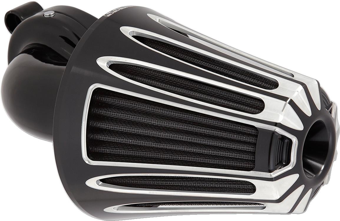 Arlen Ness Black Cone Monster Sucker Air Filter Kit for 17-19 Harley Touring