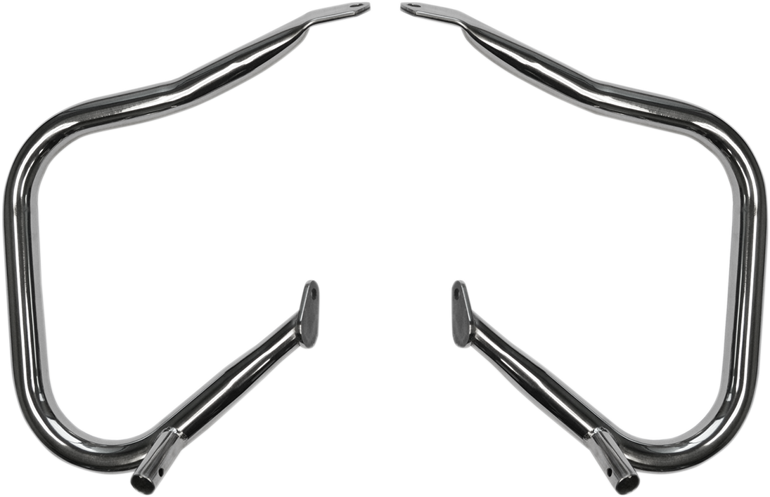 "DRAG SPECIALTIES 1.25"" BIG BUFFALO SADDLEBAG BARS GUARDS HARLEY TOURING 14-16"