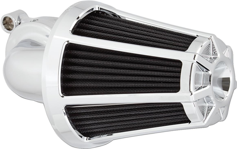 Arlen Ness Chrome Monster Sucker Air Filter Kit for 17-18 Harley Touring FLHX