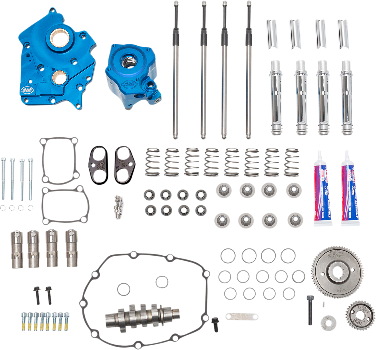 S&S Water Cooled 540G Camshaft Kit 17-20 Harley M8 Touring Softail FLHR FLSL