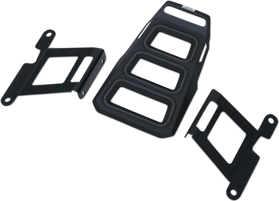 Kuryakyn 6665 Black Rear Luggage Rack for 04-19 Harley Sportster XLC XLL XLN