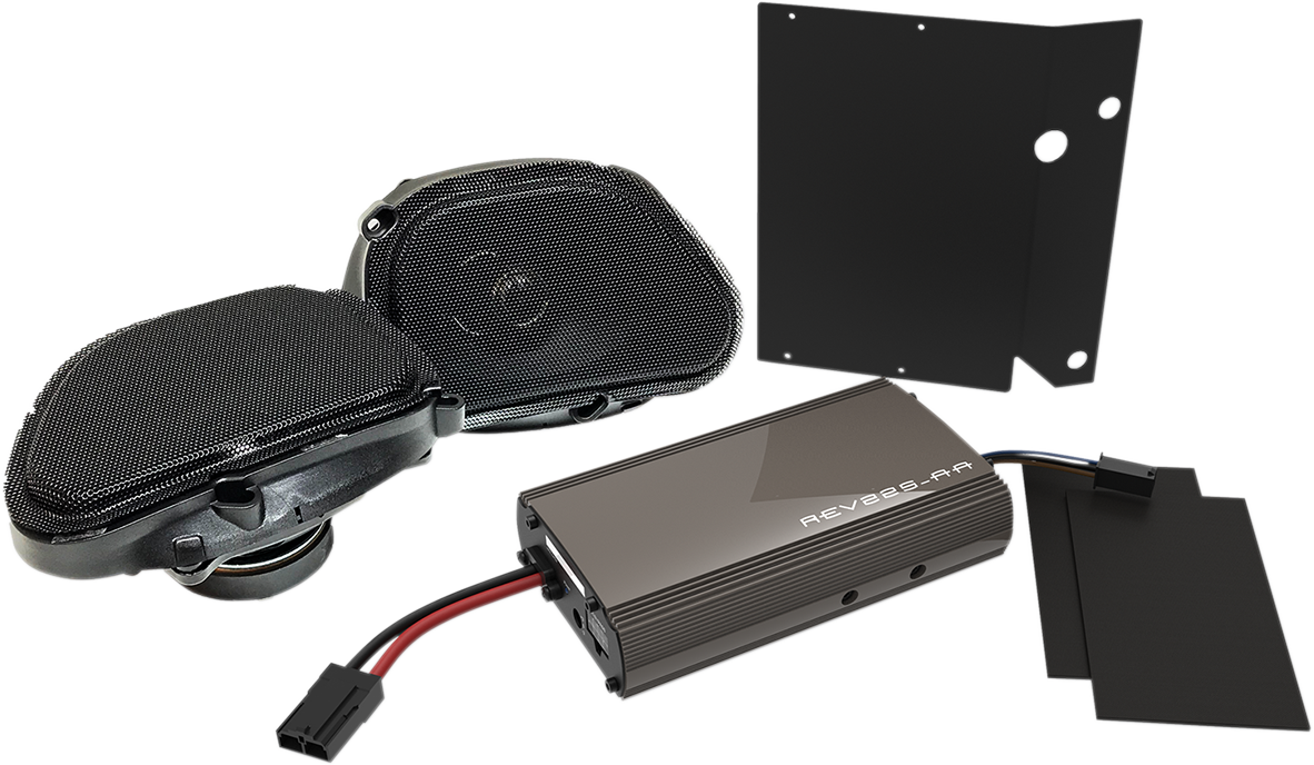 "Hogtunes 5""x 7"" Generation 3 Speaker Amplifier Kit for 98-13 Harley Road Glide"
