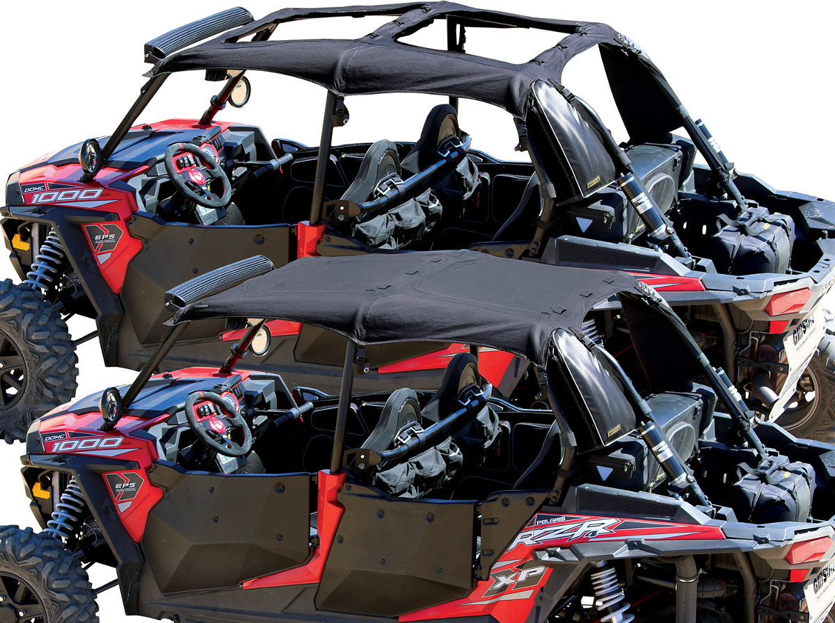 Nelson Rigg Black Polyester Soft Top Sunroof for 14-17 Polaris RZR 4 900 XP 1000