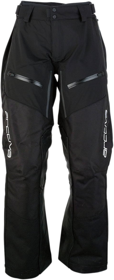 Arctiva Mens Textile Summit Snowmobile Riding Snow Racing Bib Pants