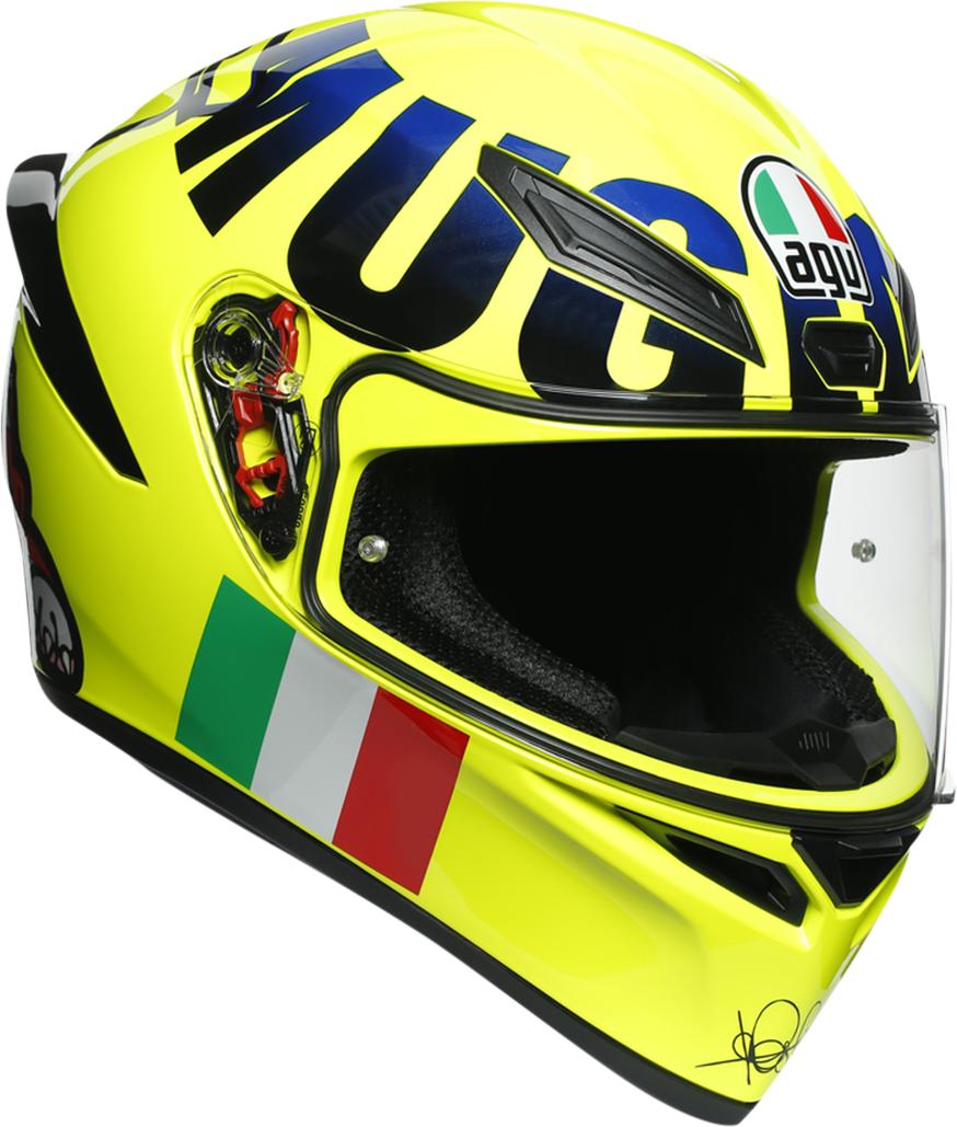 AGV K1 Rossi Mugello Unisex Adult Motorcycle Riding Street Racing Fulface Helmet