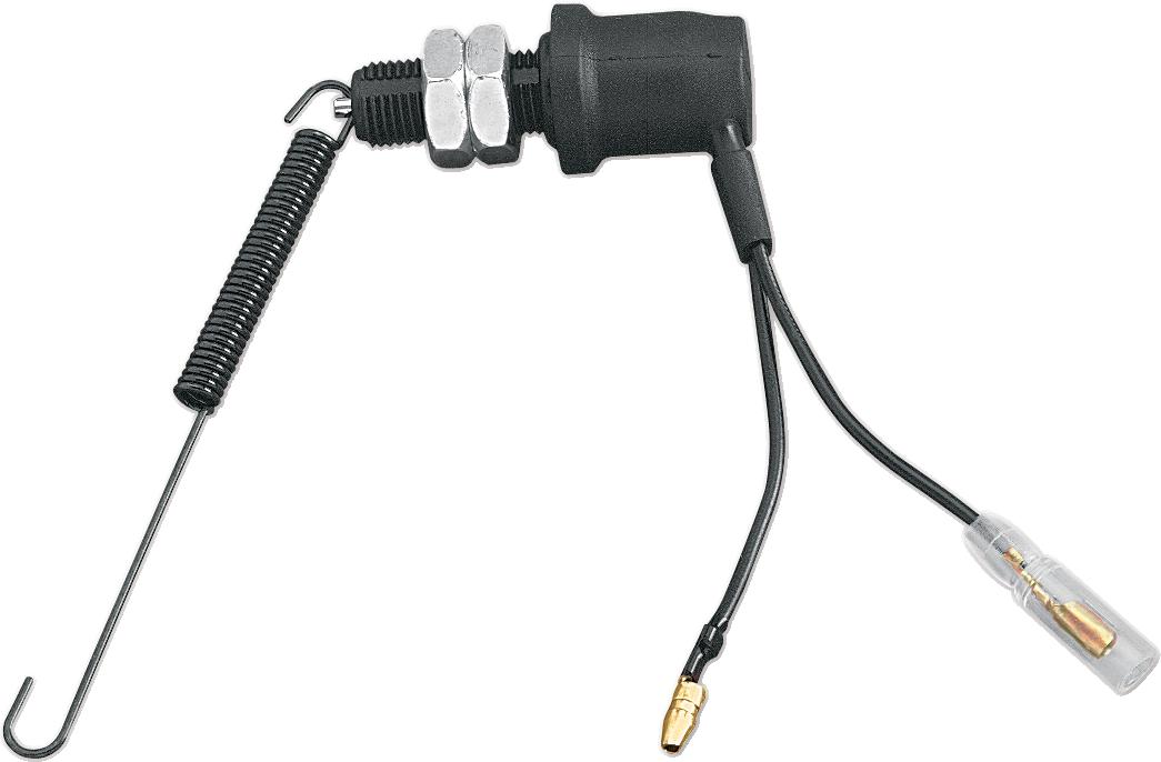 Ku0026S Technologies Black OEM Motorcycle Replacement Handlebar Brake Light  Switch