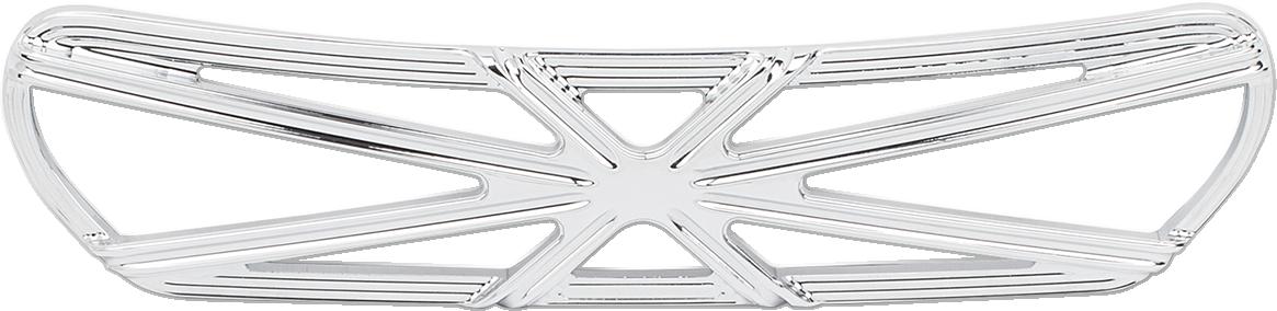 Arlen Ness Chrome 10 Gauge Fairing Insert for 14-18 Harley Touring FLHX FLHTCU
