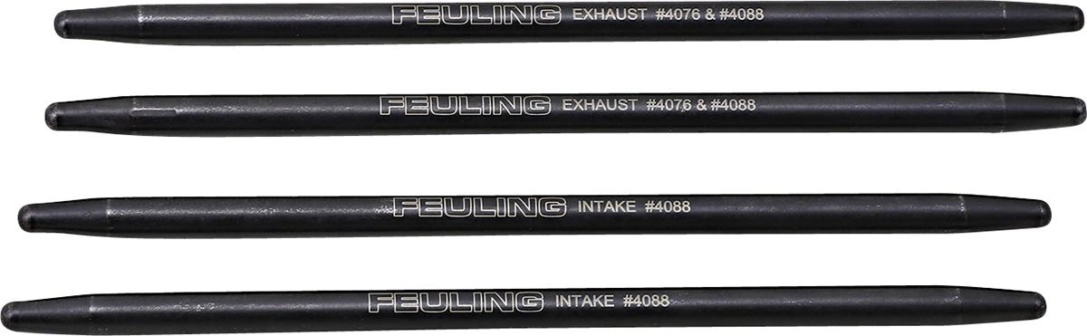 "Feuling HP+ -0.040"" Fixed Pushrod Set 17-20 Harley M8 Touring Softail FLHX FLFB"