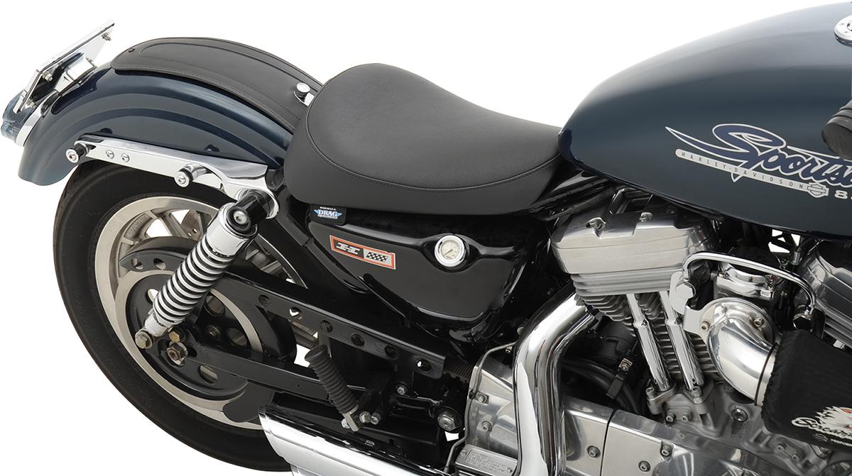 Drag Specialties Black Front Solo Seat 82-03 Harley Davidson ...