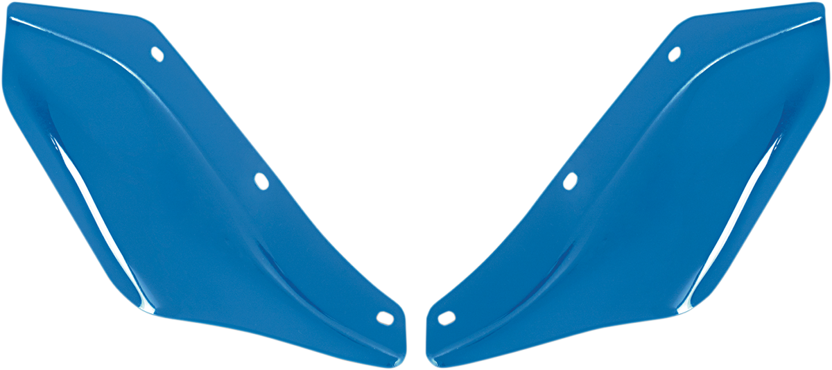 Memphis Shades Blue Front Fairing Wind Deflectors for 96-13 Harley Touring FLHX
