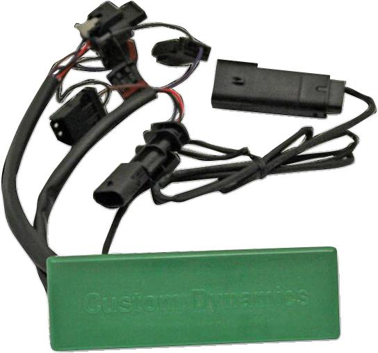 Custom Dynamics Smart Triple Play for 18-19 Harley Softail FLST FLSTC FLSTN