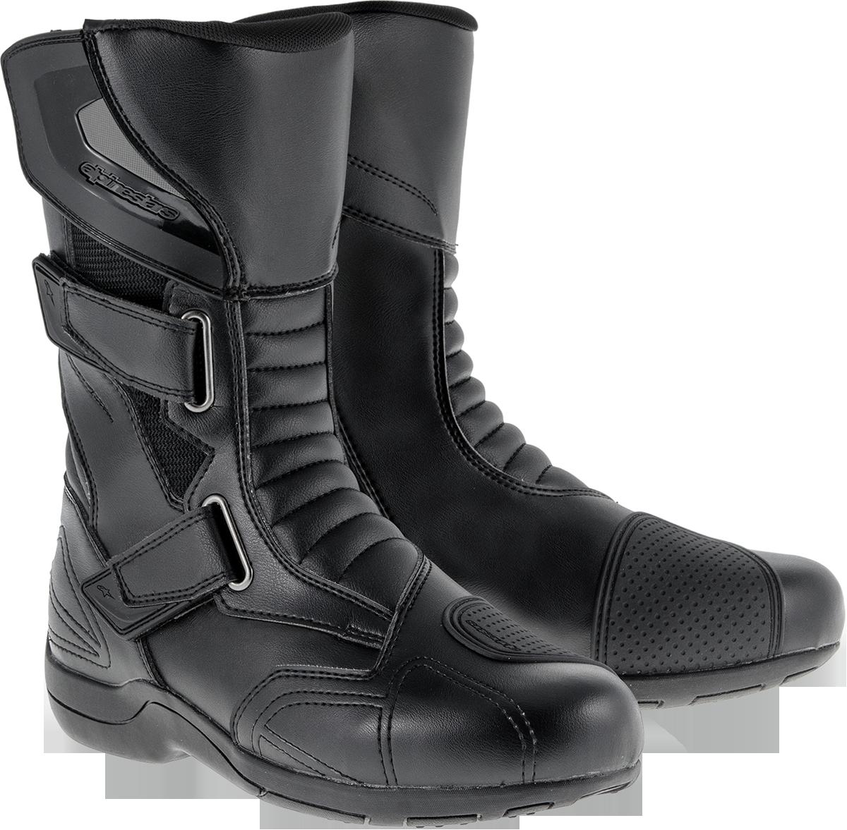 Alpinestars Mens Black Roam 2 Motorcycle Riding Dual Sport Street Size 8 Boots