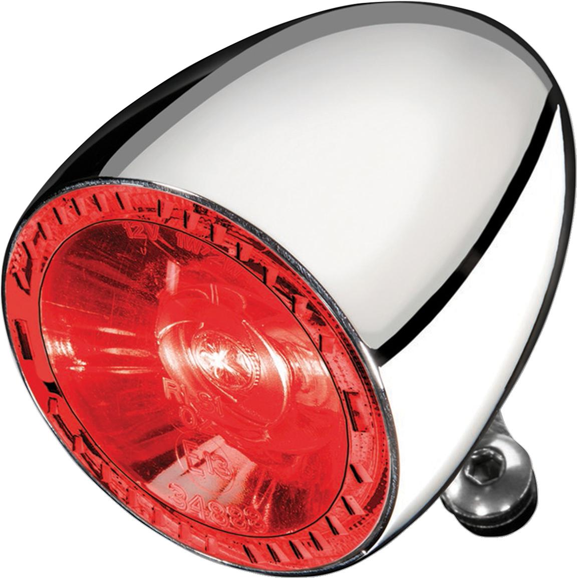 Kuryakyn 2860 Chrome Rear Bullet 1000 Fender LED Brake Light for Harley Davidson
