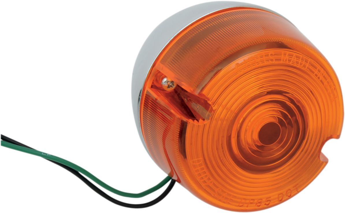 Chris Products 1 Rear Amber Turn Signal for 87-01 Harley Dyna Softail XL