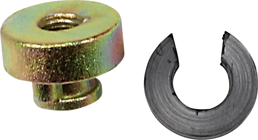Drag Specialties 1/4-28 Motorcycle Seat Mounting Nut Kit for Harley Davidson