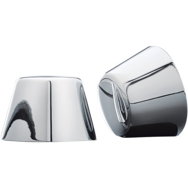 FRONT AXLE NUT COVERS