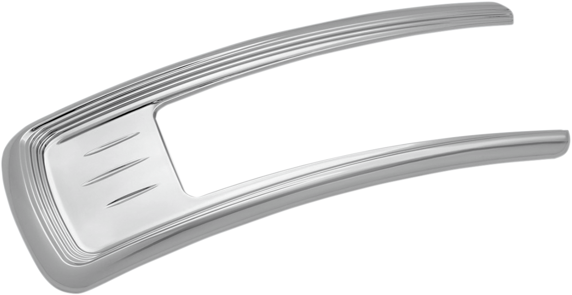 Kuryakyn 8729 Legacy Chrome Plastic Front Fender Accent for 15-19 Indian Scout