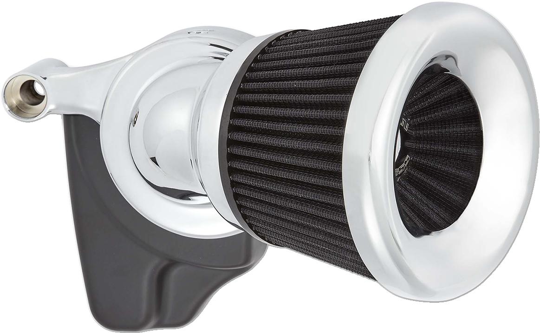 Arlen Ness Chrome 65 Degree Velocity Air Filter Cleaner Kit 99-17 Harley Softail