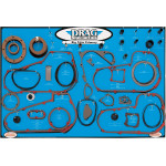 GASKET, SEAL AND O-RING DISPLAY FOR BIG TWIN 4- AND 5-SPEED PRIMARIES