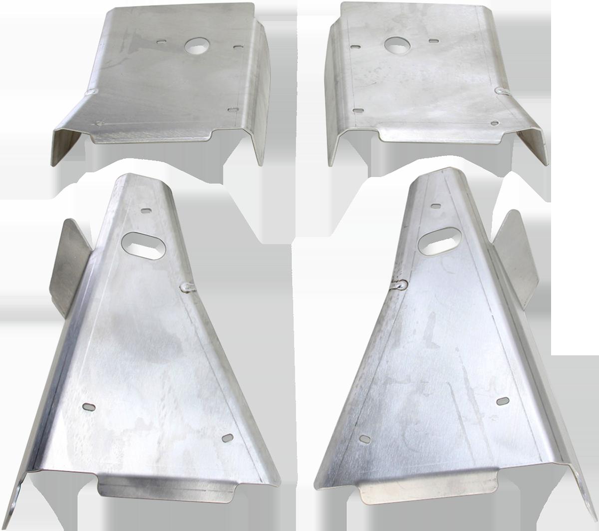 Moose Racing UTV Aluminum Front A-Arm Guard Kit for 15-19 Polaris RZR General