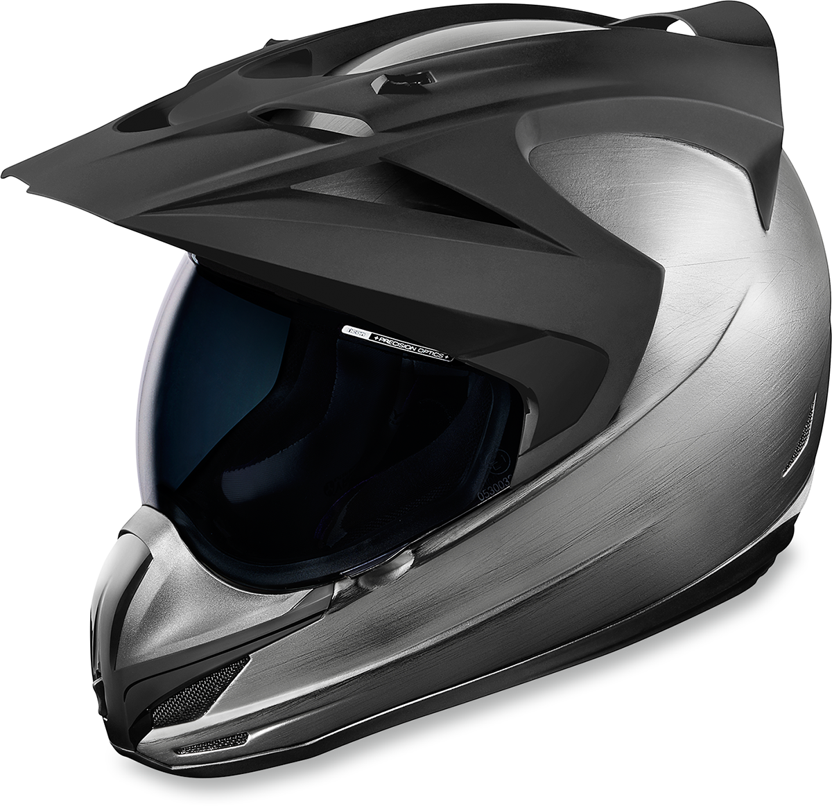 Icon Unisex Sliver Variant Fullface Motorcycle Riding Street Racing Helmet