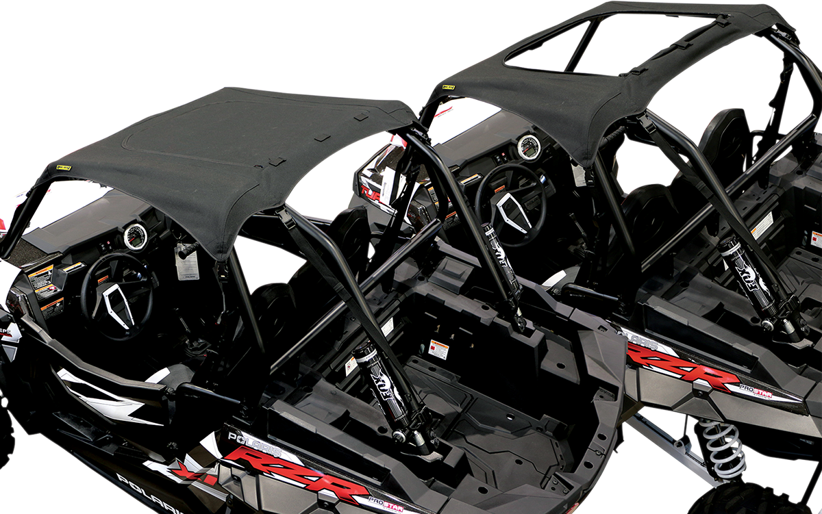 Nelson Rigg Black Polyester Soft Top Sunroof for 14-17 Polaris RZR 900 XP 1000