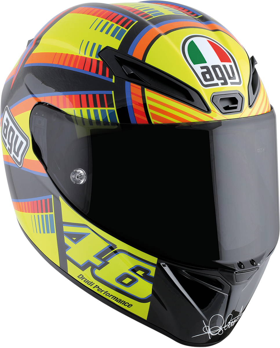 Agv Soleluna  Veloce S Full Face Motorcycle Riding Street Road Racing Helmet