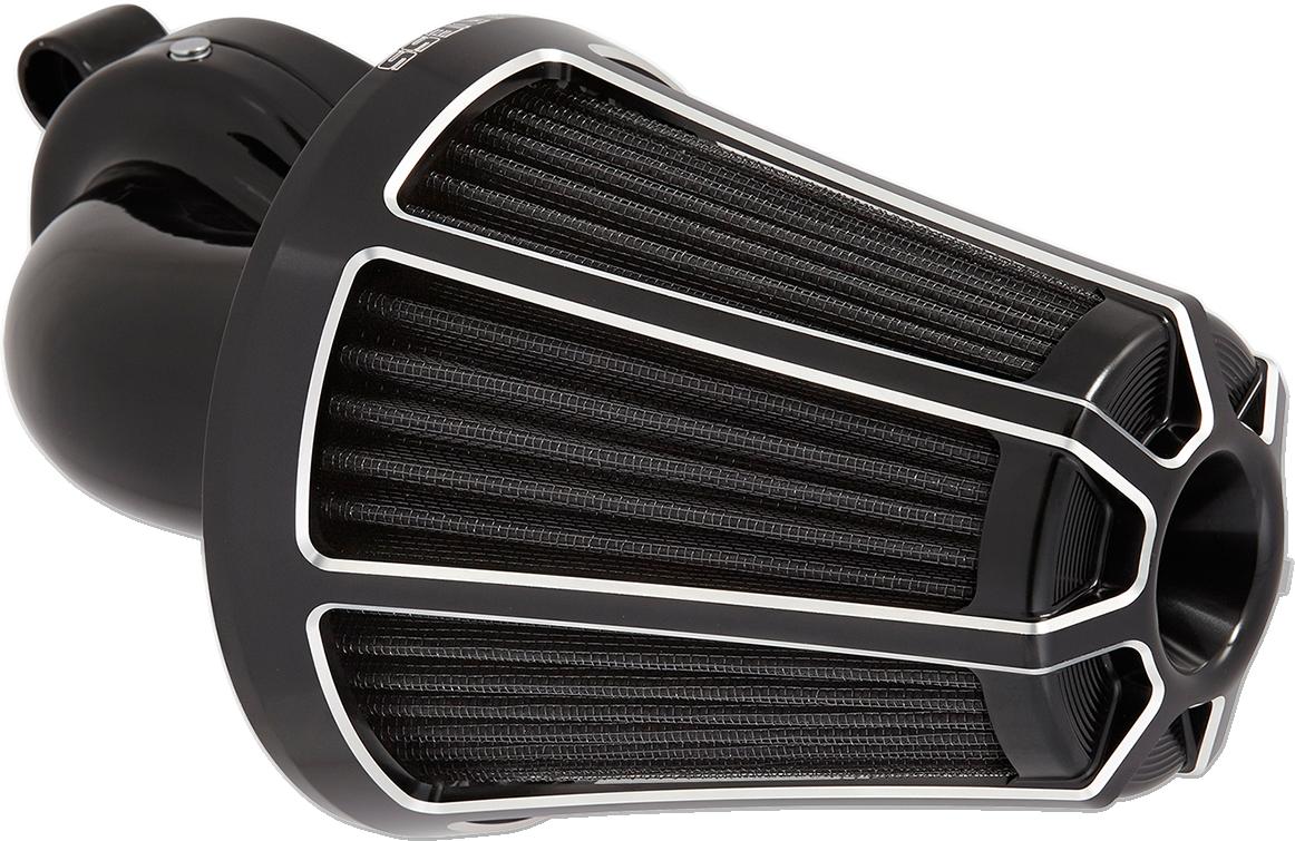 Arlen Ness Black Monster Sucker Air Filter Kit for 17-18 Harley Touring FLHX